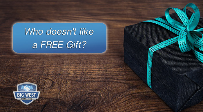 Who doesn't like a free gift